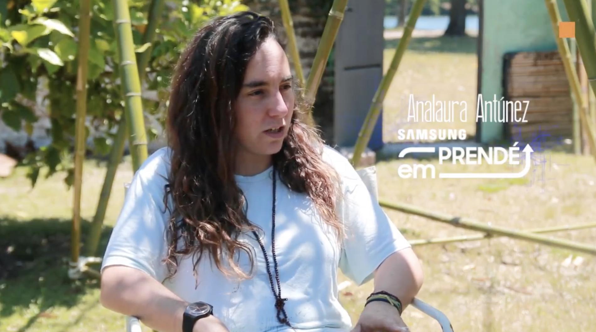 Entrevista Canal M - Emprende Samsung -Analaura Antúnez